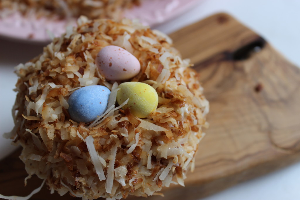 Easter Nest Cupcake Pic 1